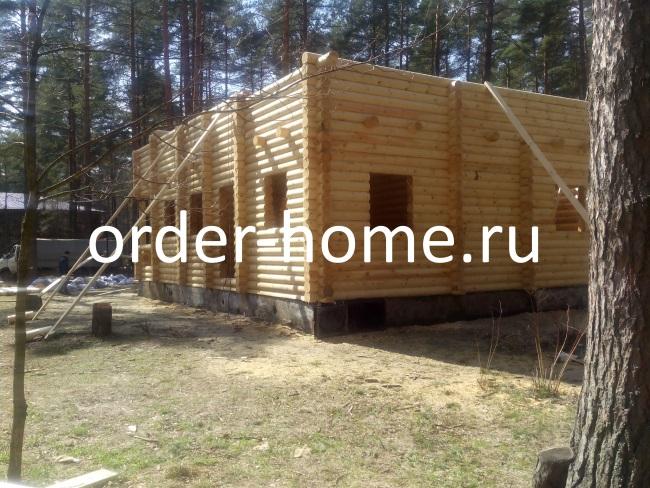Строительство дома на БО Велес